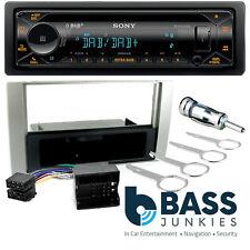 Ford Fiesta 2006 On Sony DAB CD MP3 USB AUX & Bluetooth Car Stereo Fitting Kit