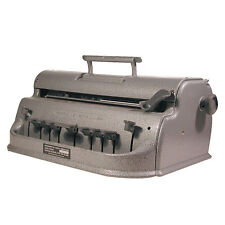 Perkins Classic Brailler - Standard for the Blind, Margin Stops, Paper Locking,