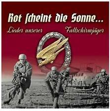Lieder unserer Fallschirmjäger - Rot scheint die Sonne CD - NEU!