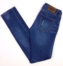 Quicksilver women's denim skinny denim jeans medium wash size 0 24