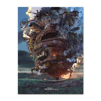 Howl's Moving Castle Poster - Official Art - High Quality Prints