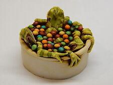 Harmony Kingdom Artist Neil Eyre Designs tree frog Frogs ball play tub le 50