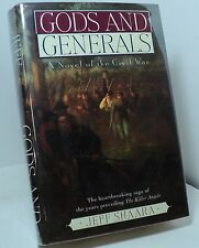 Gods and Generals by Jeff Shaara - signed