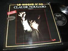 CLAUDE NOUGARO<>LE DISQUE D'OR VOL.2<>LP Vinyl~France Pressing<>BARCLAY BA -215