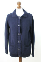 WOOLOVERS Navy Cardigan Size S