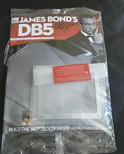 JAMES BOND 007 - ASTON MARTIN DB5 - 1:8 SCALE BUILD - GOLDFINGER - CAR PART 47