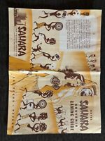 Las Vegas Souvenir Gaming Guide with Arabs and African Native Motif 1954