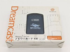 SEGA Dreamcast DC - 4x Memory Card (PSO Limited Edition) Boxed(B) - Japan Import