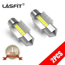 LASFIT 6000K White Festoon 31MM DE3425 DE3157 LED Roof Dome Interior Light Bulbs