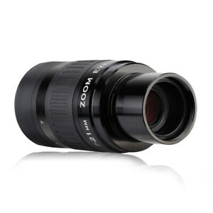 """SVBONY SV135 7-21mm 1.25"""" Zoom Eyepieces Fully Multi-Coated for Eyeglass Wearers"""