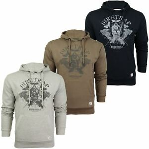 Mens Over-head Hoodie by Firetrap Orono