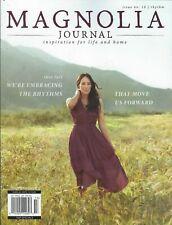 The Magnolia Journal Magazine Issue 3 Chip Joanna Gaines HGTV 2017