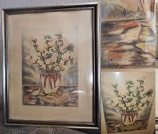 Künstlerische im Impressionismus-Stil mit Stillleben-Motiv von 1900-1949