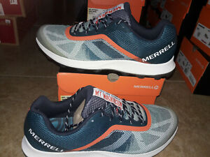 NEW Mens Merrell MTL Skyfire X White Mountains Trail Running Shoes, size 14