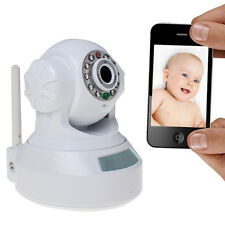 Wireless Wired IP Camera WiFi Webcam Network Security Two Way Audio Night Vision