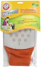 Arm & Hammer Deodorizing Short Haired Pet Brush Glove 82493