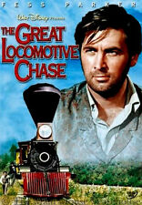 Disney The Great Locomotive Chase Yankee Soldiers Civil War Trains Railroad DVD