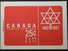 Canada Booklet #BK54, MNH OG, Centennial Series