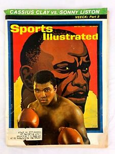 May 24, 1965 Muhammad Ali Cassius Clay vs Sonny Liston Boxing Sports Illustrated