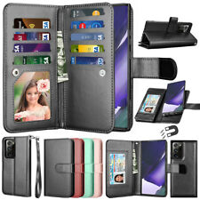 For Samsung Galaxy Note 20 20 Ultra 10+ 9 8 Wallet Case Flip Leather Stand Cover
