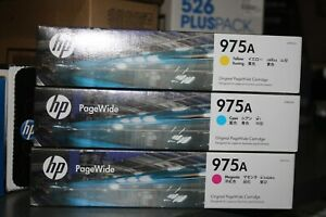 HP 975A Genuine Inkjet Combo (Y, M, C) Brand New Stock in Aus!