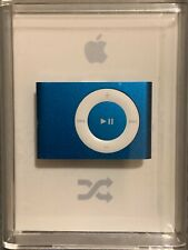 OPEN BOX & NEW Apple iPod Shuffle 2nd Generation 1GB A1204 BLUE MB813LL/A