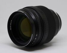 New design Helios-40-2-C 85mm f/1.5 Mc lens for Canon EOS.