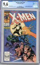 X-Men  #249  CGC   9.6   NM+  White pgs 10/89  Zaladane, Polaris/Malice, Gateway