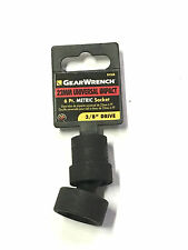 "GearWrench 22MM Universal Impact Metric Socket 3/8"" Drive 6 Point 84368"