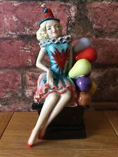 "Kevin Francis/Peggy Davies Ceramic Figurine ""Pierrot"" Artists Proof John Michael"