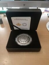 Canada 3 oz. Pure Silver Coin - Centennial Flame - Mintage: 2,500 (2019)