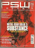 PSW POCKET n. 04 - METAL GEAR SOLID 2. Substance. Playstation 2