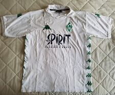 WERDER Bremen shirt trikot jersey 2002 2003 HOME KAPPA XL Bianco