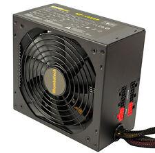 1000 WATT MODULAR ATX PC Computer Netzteil SATA PCIe 14cm 140mm Lüfter 80+ Werte