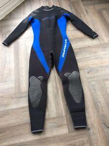 Scubapro Everflex 5mm Steamer Womens Wetsuit Black/blue Little Used