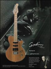 Robert Godin Exit 22 electric guitar ad 8 x 11 advertisement 2003 print