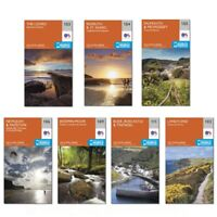 Ordnance Survey OS Explorer Cornwall Map with Mobile Download - 1st Class Post