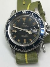 1973 Tudor Submariner 94110 Blue Vintage Diver Watch Rolex