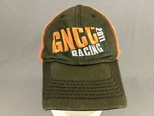 GNCC Racing 2011 Hat Cap Motorcycle Moto ATV Trashed Distressed Adjustable Brown