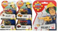 FIREMAN SAM DIE-CAST CARS - CHOOSE YOUR FAVORITE - CHOICE OF 5 DIFFERENT CARS