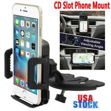 Cd Slot Car Mount Phone Holder Cradle Universal For iPhone 11 Pro Max Samsung Lg