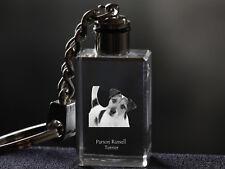 Parson Russel Terrier, Dog Crystal Keyring, High Quality, Crystal Animals Ca