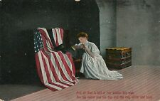 All That Is Left Patriotic Postcard