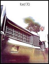 1970 Ford Dlx. Original Brochure- XL Galaxie LTD 500!