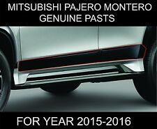 MITSUBISHI MONTERO PAJERO SPORT SIDE DOORS BODY MOLDING TRIMS GENUINE PARTS 2016