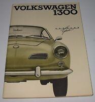 Betriebsanleitung VW Karmann Ghia 1200 Bedienungsanleitung Handbuch August 1965!