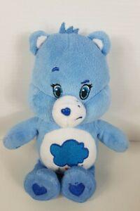 Grumpy Bear Care Bear Blue with Rain 22cm 2015
