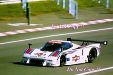 Wollek & Nannini Martini Racing Lancia LC2 Le Mans 1984 Photograph