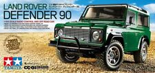 58657 Tamiya R/C Land Rover Defender 90 Model Car Kit 1/10 Scale CC-01 Chassis