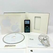 Apple iPod Nano Original - 1GB - Black - A1137 (EMC 2066) Collezione semi Boxato